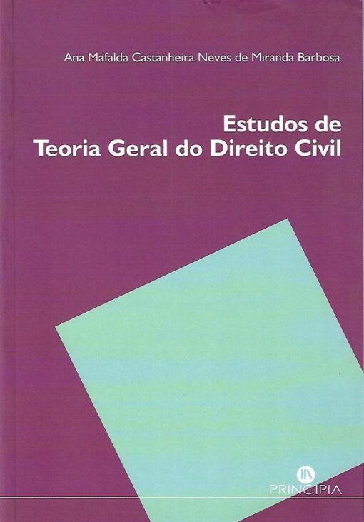 capa do livro Estudos de Teoria Geral do Direito Civil