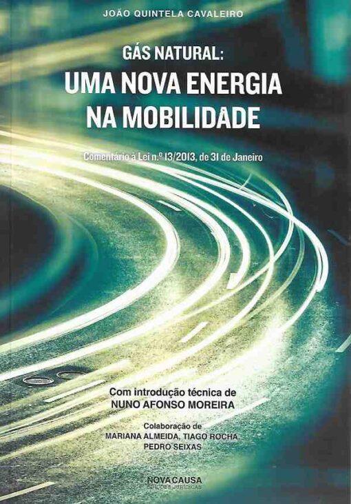 capa do livro Gás Natural Uma Nova Energia na Mobilidade