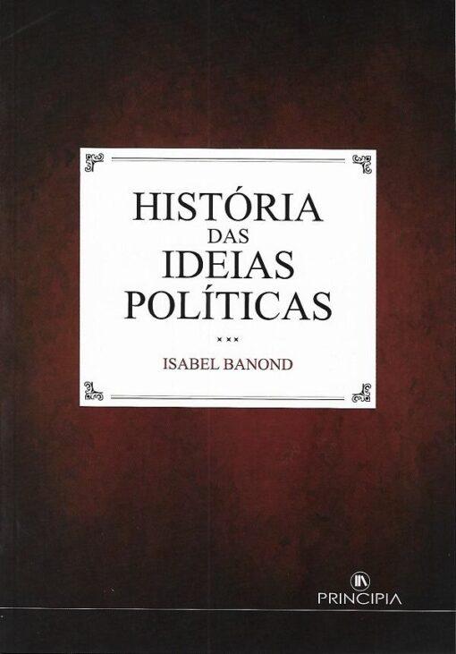 capa do livro História das Ideias Políticas