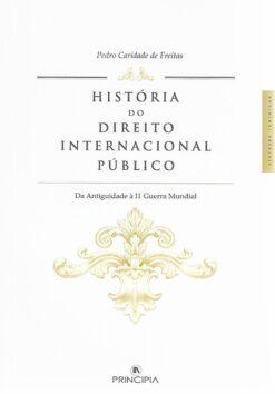 capa do livro História do Direito Internacional Público