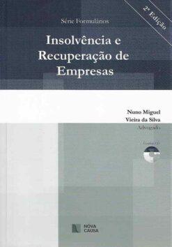 capa do livro Insolvência e Recuperação de Empresas