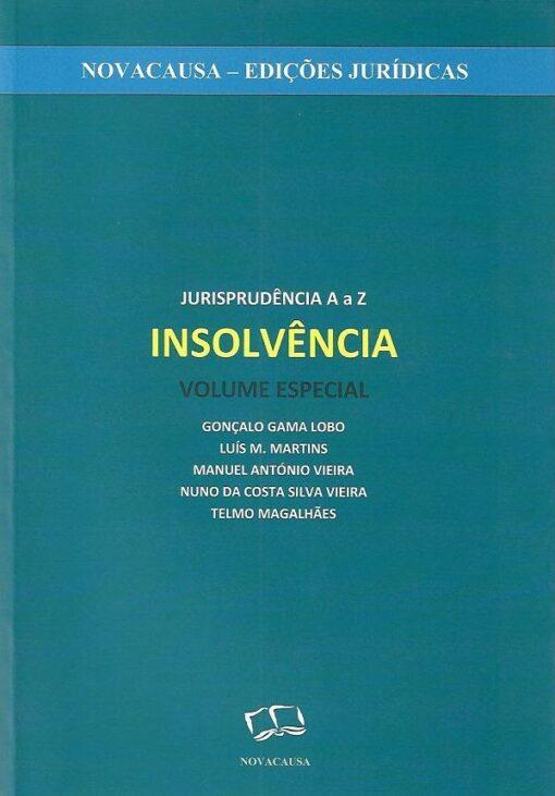 capa do livro Jurisprudência de A a Z - Insolvência