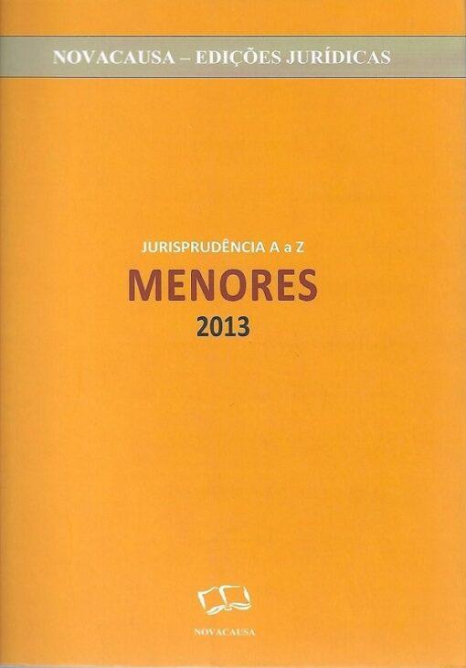capa do livro Jurisprudência de A a Z Menores