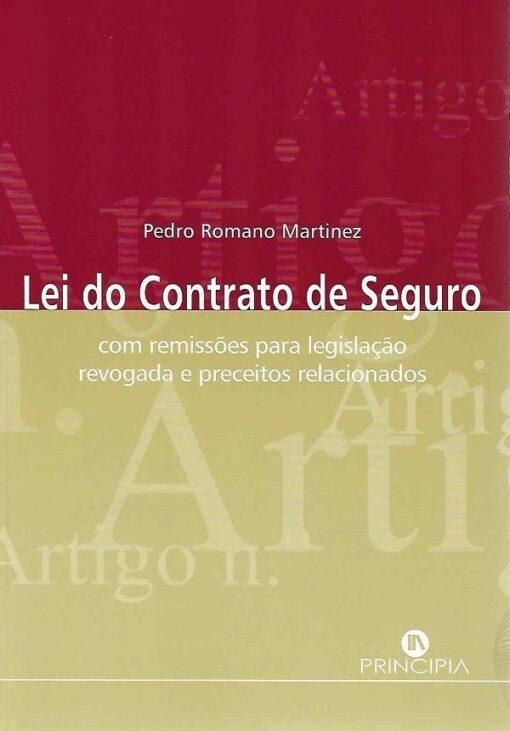capa do livro Lei do contrato Seguro
