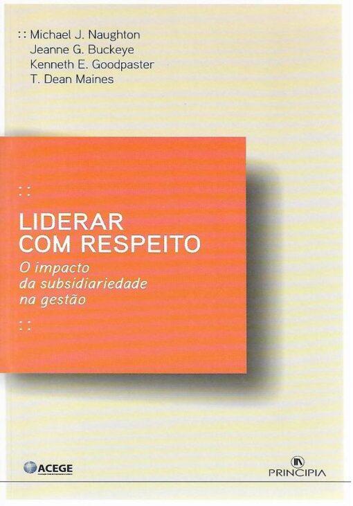 capa do livro Liderar com Respeito