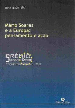 capa do livro Mário Soares e a Europa Pensamento e Ação
