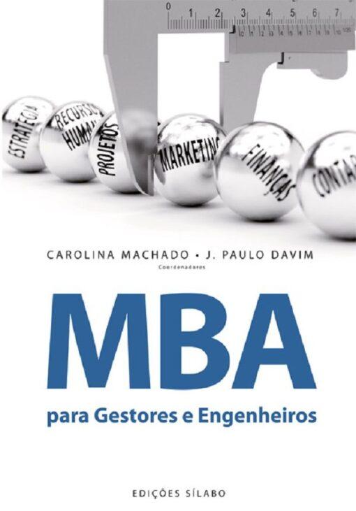 capa do livro Mba para Gestores e engenheiros