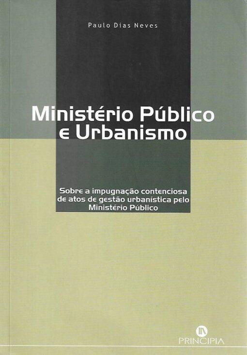 capa do Livro Ministério Público e Urbanismo