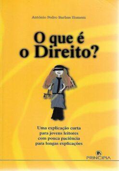 capa do livro O que é o Direito