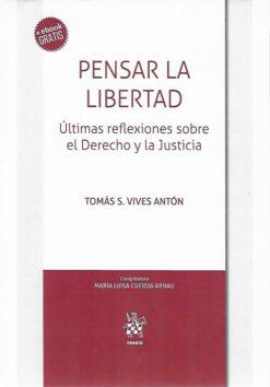 capa do livro Pensar la Libertad