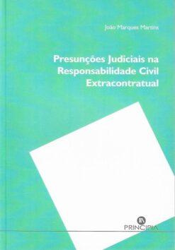 capa do livro Presunções Judiciais na Responsabilidade Civil Extracontratual