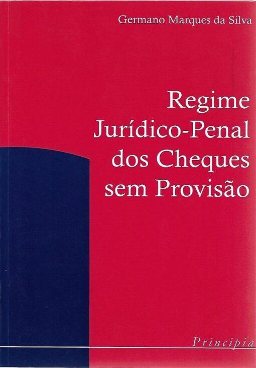 capa do livro Regime Jurídico Penal dos Cheques sem Provisão