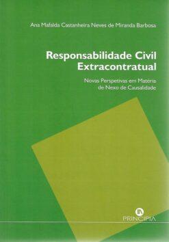 capa do livro Responsabilidade Civil Extracontratual