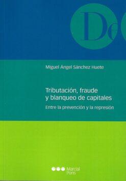 capa do livro Tributación, fraude y blanqueo de capitales