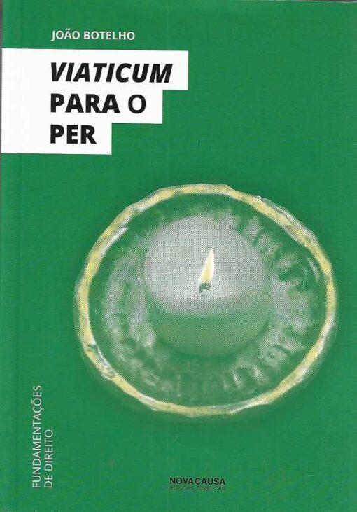 Capa do livro Viaticum para o PER