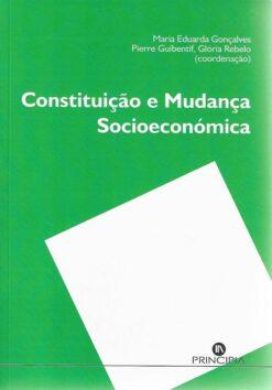 capa do livro constituição e mudança socioeconómica
