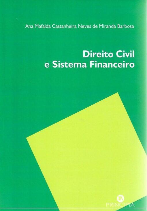 capa do livro direito civil e sistema financeiro