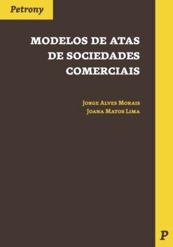 capa do livro modelos de atas de sociedades comerciais