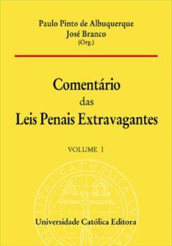 capa do livro Comentário das Leis Penais Extravagantes - Volume 1