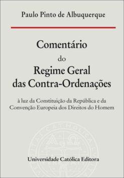 capa do livro omentário do Regime Geral das Contra-Ordenações