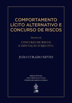 capa do livro Comportamento Lícito Alternativo e concurso de Risco