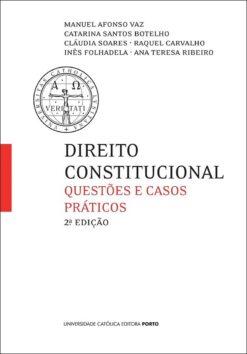 capa do livro Direito Constitucional- Questões