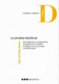 capa do livro La prueba testifical