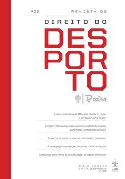 capa do livro Revista de Direito do Desporto N.º 2