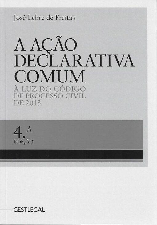 capa do livro a ação declarativa comum