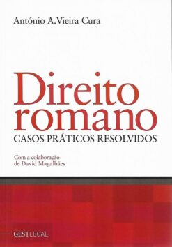 capa do livro direito romano