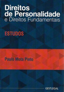 capa do livro direitos de personalidade e direitos fundamentais