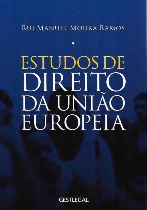 capa do livro estudos de direito da união europeia