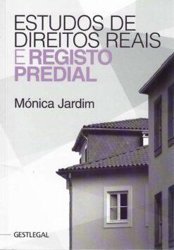 capa do livro estudos de direitos reais e registo predial