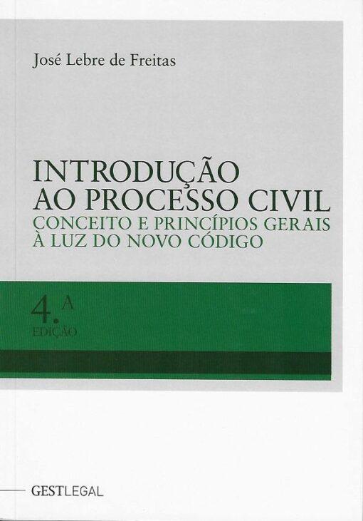 capa do livro Introdução ao Processo Civil