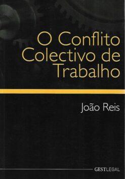 capa do livro o conflito coletivo de trabalho
