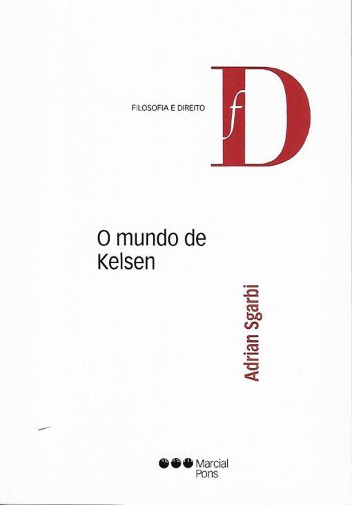 Capa do livro o mundo de Kelsen