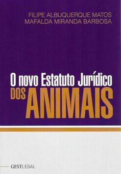 capa do livro o novo estatuto jurídico dos animais
