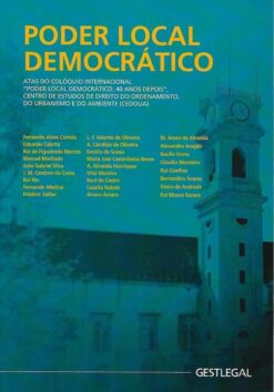 capa do livro poder local democrático
