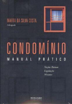 capa do livro Condominio Manual Prático