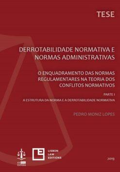 capa do livro Derrotabilidade Normativa e Normas Administrativas Parte I