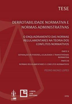 capa do livro Derrotabilidade Normativa e Normas Administrativas Parte II