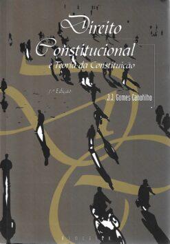 capa do livro Direito Constitucional e Teoria da Constituição
