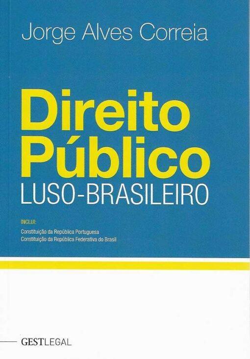 capa do livro Direito Público Luso-Brasileiro