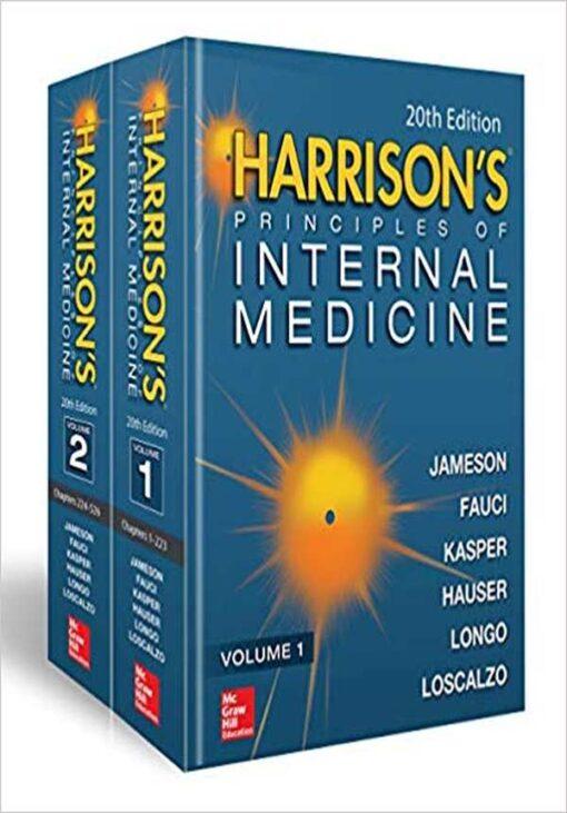 Capa do Livro Harrison's Principles of Internal Medicine