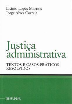capa do livro Justiça administrativa