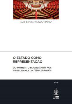 Capa do livro O Estado como Representação - Do Momento Hobbesiano aos Problemas Contemporâneos