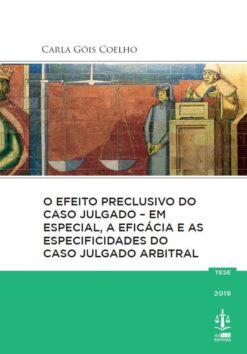 Capa do livro O efeito Preclusivo do Caso Julgado