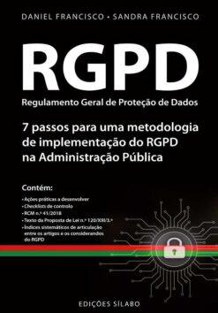 capa do livro RGPD Regulamento Geral de Proteção de dados