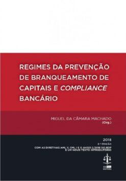 capa do livro Regimes da Prevenção de Branqueamento de Capitais e Compliance Bancário