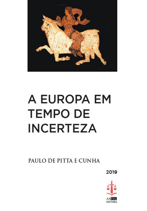 capa do livro a europa em tempo de incerteza